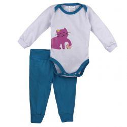 Pijama Bebê  Miau - 18709