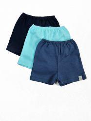 Kit 3 Shorts para Bebê -  20560 - M