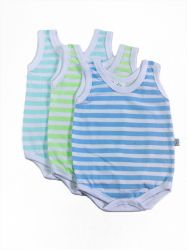Kit 3 Body  Bebê Regata -  20561