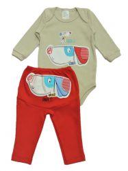 Pijama Bebê Daddy  - Enxoval Bebê