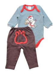 Pijama de bebê - Poney