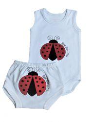 Conjunto Lady Bug - Bebê Brincalhão 20588