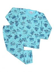 Pijama Infantil Manga Longa Tam 1 anos