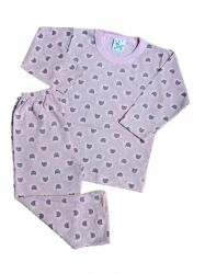 Pijama ML Feminino Tam 1 ano - Mafessoni