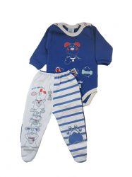 Pijama Bebê Bom Amigo - Bicho Molhado 20340