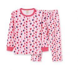 Pijama Infantil Amor- Pijama Malha