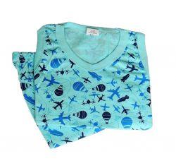 Pijama Infantil Regata  Tam 10 Masculino
