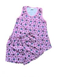 Pijama Infantil Regata Feminino