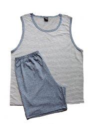 Pijama Regata Adulto Masculino  - 20010
