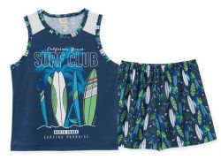 Pijama  Infantil Regata Surf
