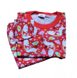 Pijama Infantil Manga Longa Tam 3 Feminino