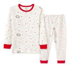 Pijama Infantil  Feminino com Punho - Ovelhinha