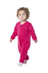 Pijama Macacão Flanelado - Pink