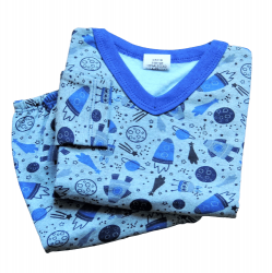 Pijama Infantil Masculino Flanelado Tam 1
