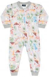 Pijama Macacão New Soft  Flanelado -  Baby Dino