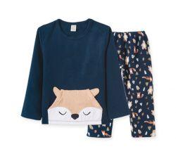 Pijama  Infantil de Soft - Raposinha