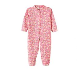 Macacão Pijama em Soft  - Raposinha Rosa