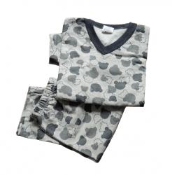 Pijama Infantil  Tam 8 Flanelado Masculino